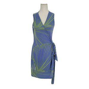Tori Richards Honolulu Wrap Dress Sleeveless Large